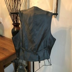 Suits & Blazers - Men's Black Dress Vest